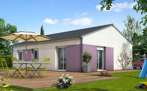 Plan maison 3D Smile - plan gratuit astuce Pinterest - plan de maison en l de plain pied gratuit
