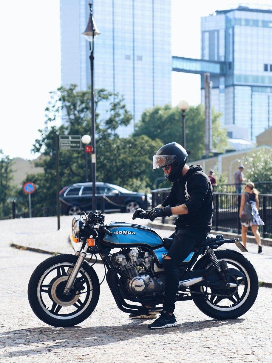 My Honda CB 750 K 82 Caferacer Brat Bike Cafe Racer Bulit
