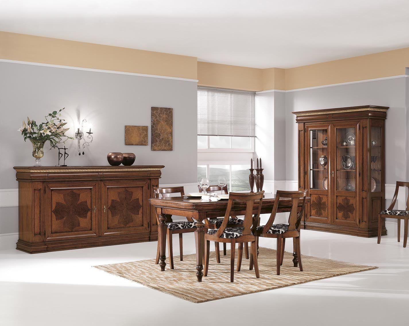 Mobili Pranzo ~ Migliori immagini soggiorni classici in legno mobilificio