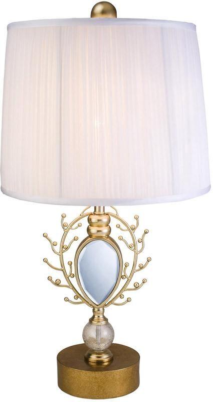 Ok Lighting OK-4260-T2 Glimmer Of Gold Table Lamp