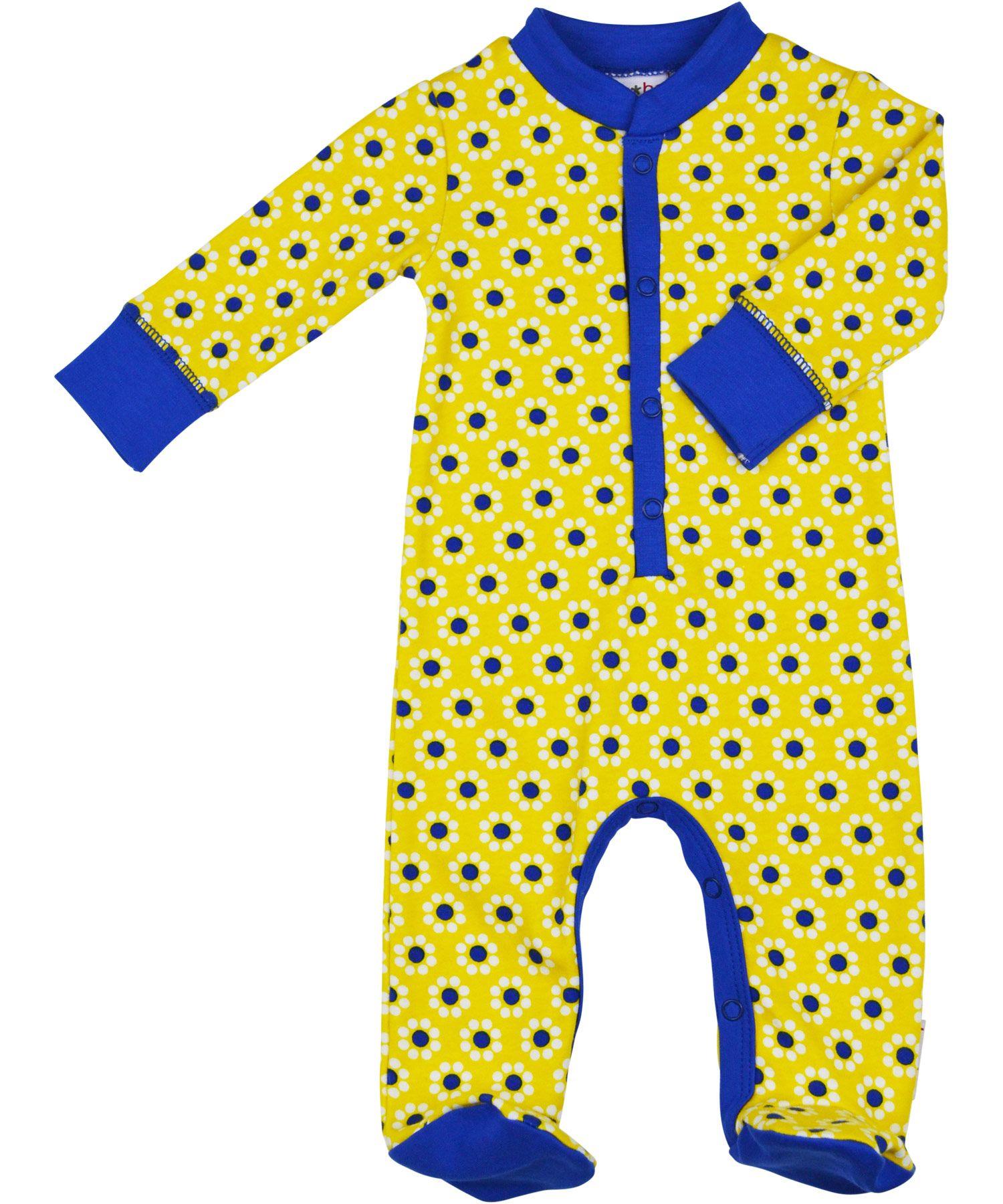 joli pyjama à fleurs par Baba Babywear #emilea