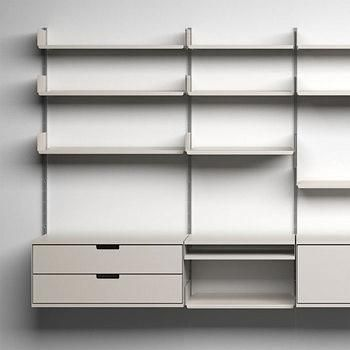 10 Easy Pieces Wall Mounted Shelving Systems Remodelista Wall