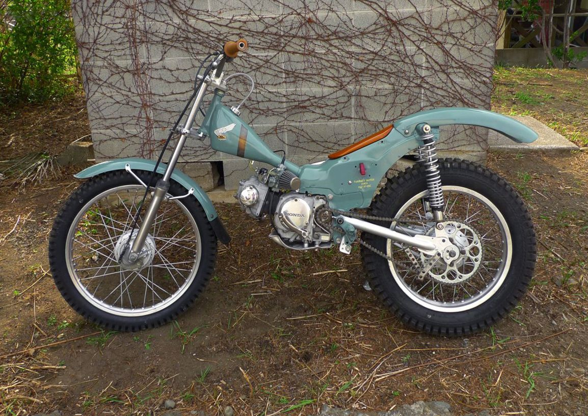 Vintage Trials Bike 53