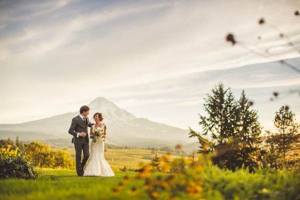 Pacific Northwest Wedding at Mt Hood Organic Farms