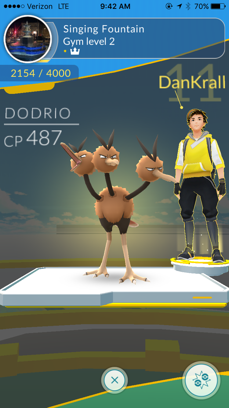Gyms And Fighting Have A Problem In Pokemon Go Pokemon Go Gym Pokemon