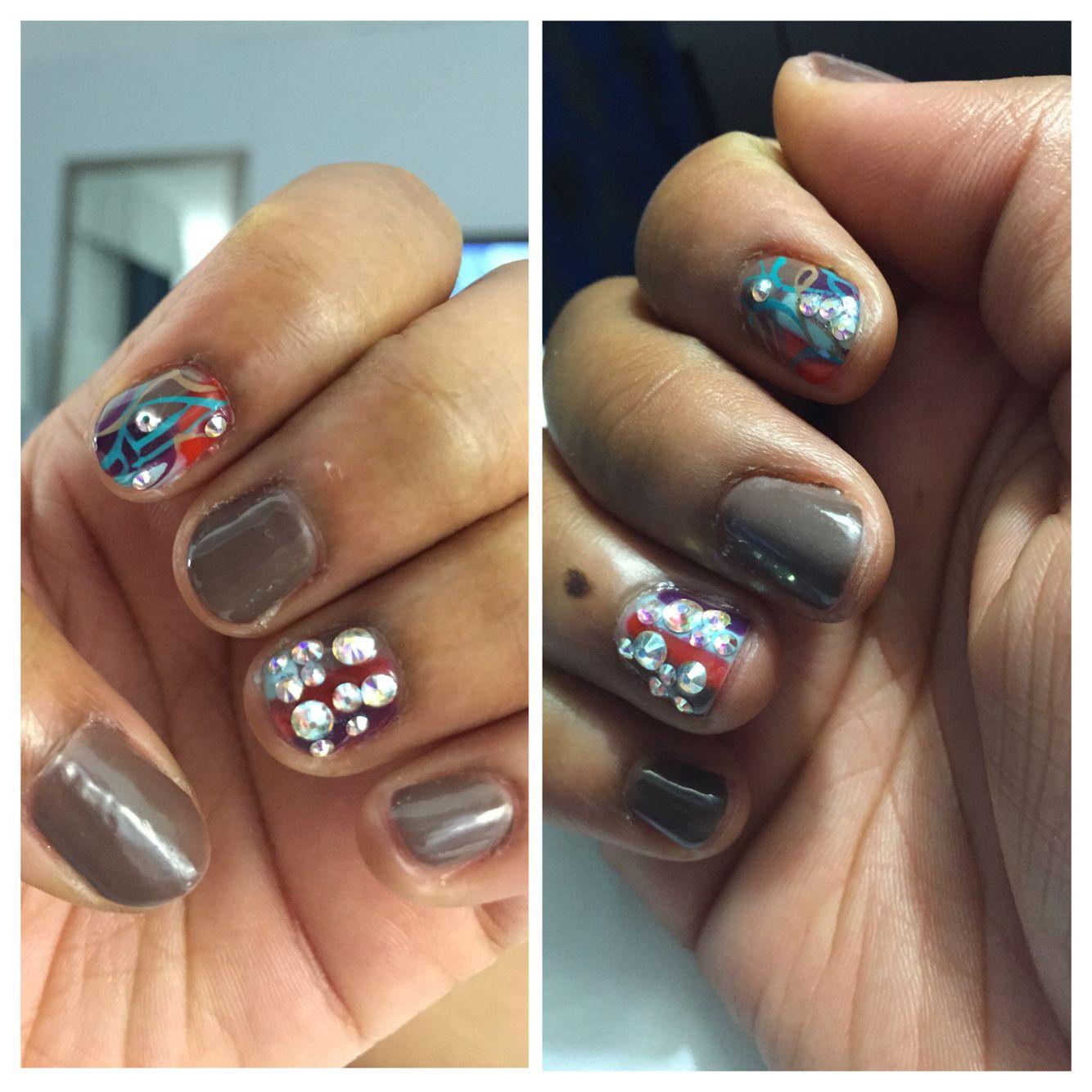 Shellac natural nail