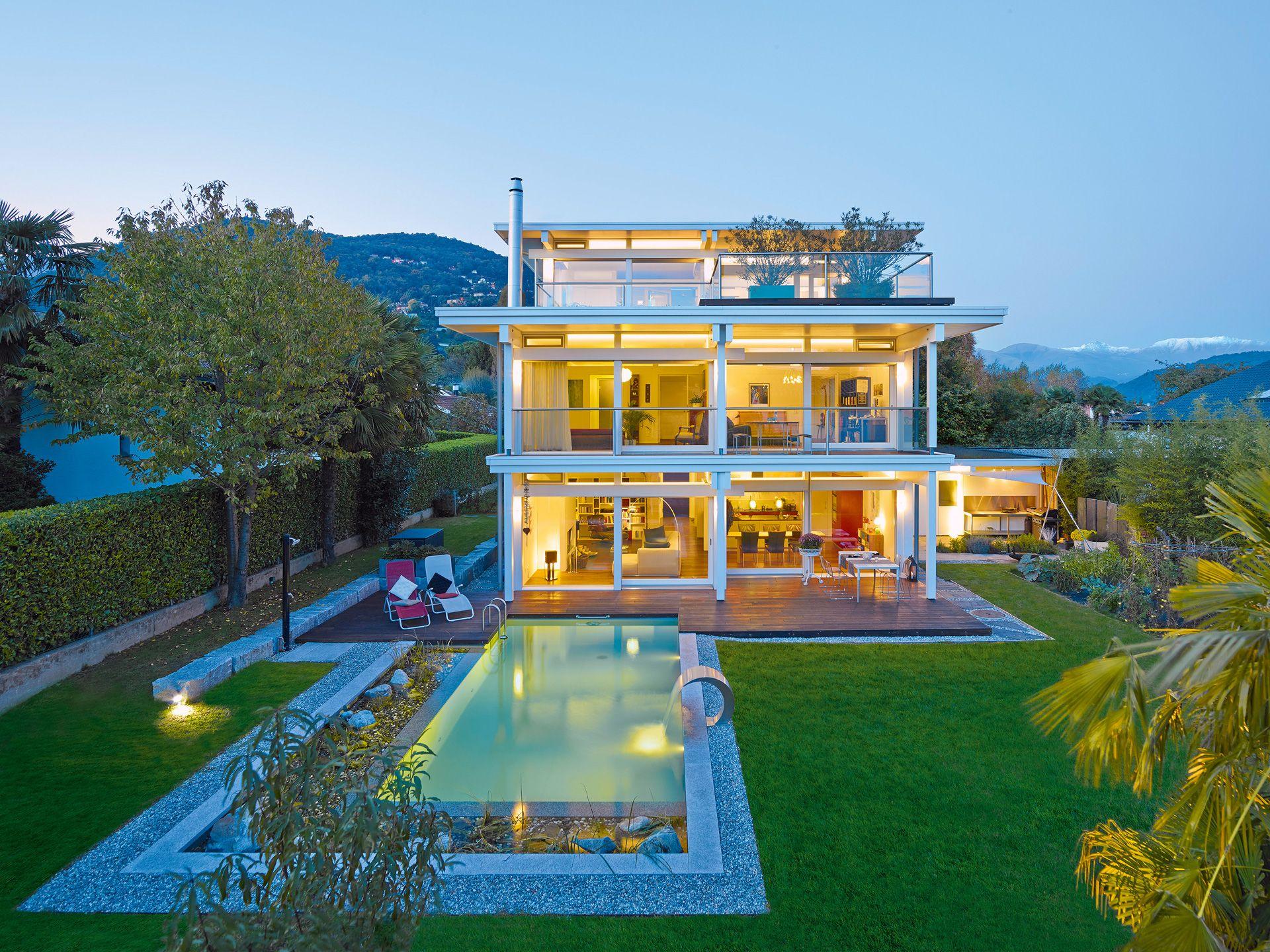 Huf Haus Art Flachdach Fachwerkhaus Von Huf Haus Luxurioses