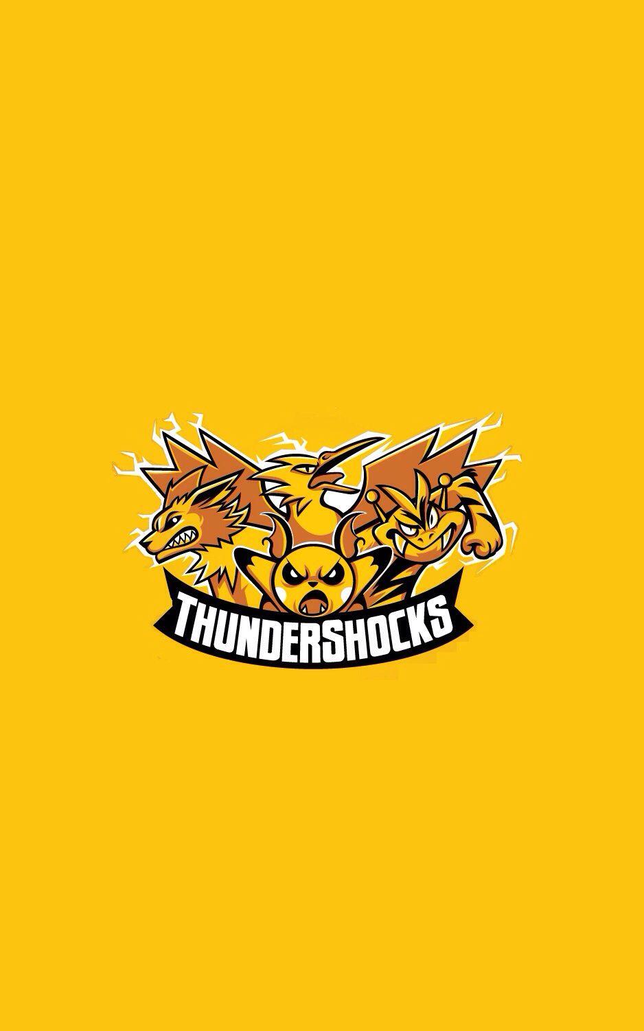 Thundershocks Pokemon IPhone 5 Wallpaper