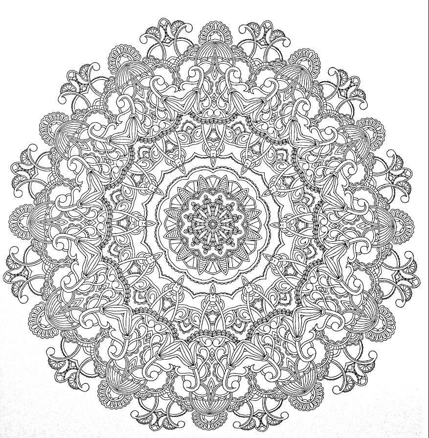 Pin By Jennifer Jones On Kleurplaaten Mandala Coloring Books Mandala Coloring Mandala Coloring Pages
