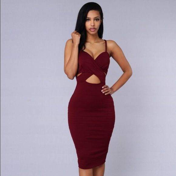 4bd9a39d2f Bodycon dress Purchased from fashion nova but is too big for me brand new  with tags only tried on Fashion Nova Dresses