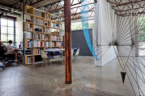 escritório em casa moderna, símbolo de áudio