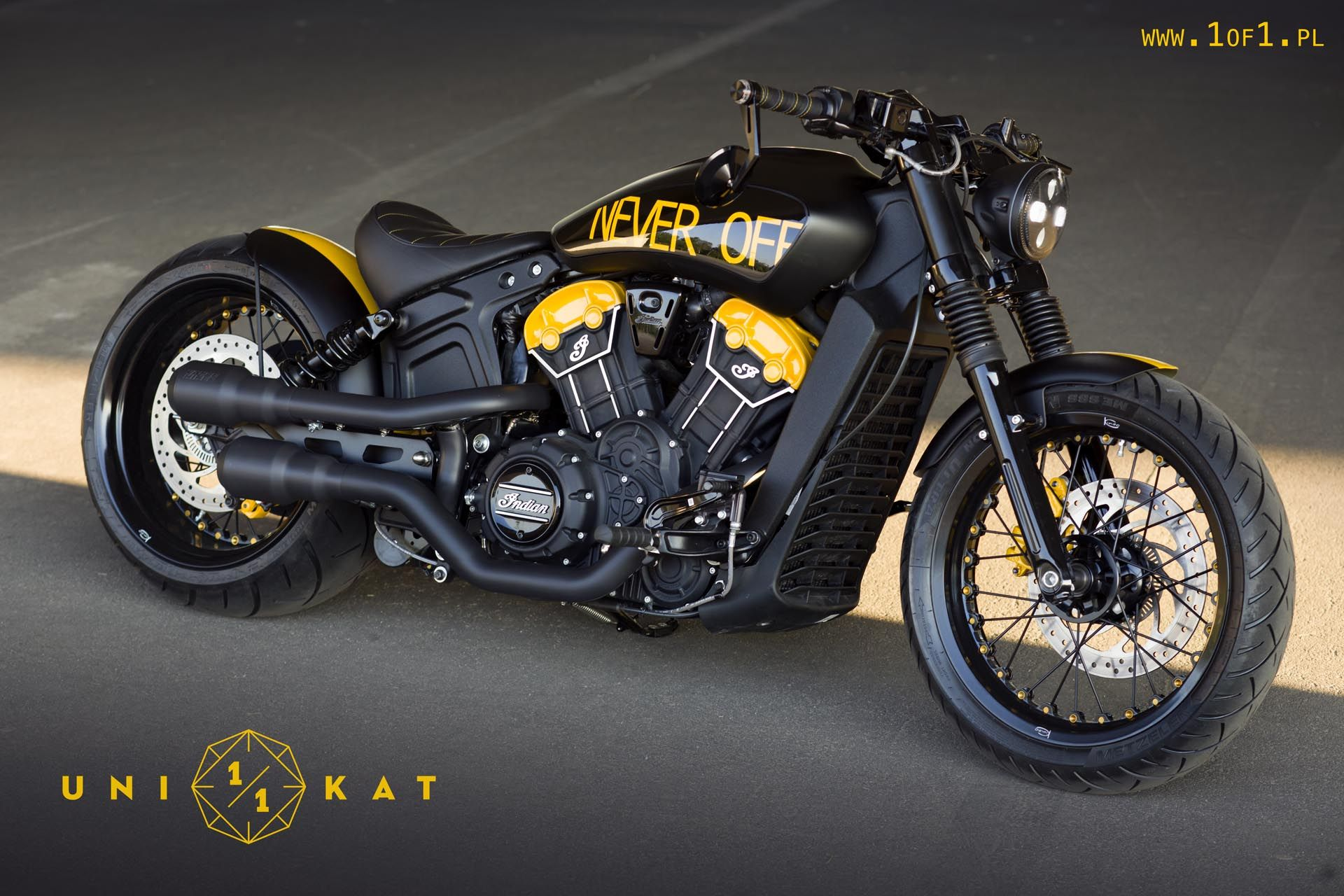 Indian Scout Bobber Never Off Indian Motorcycle Scout Indian Scout Indian Bobber [ 1280 x 1920 Pixel ]