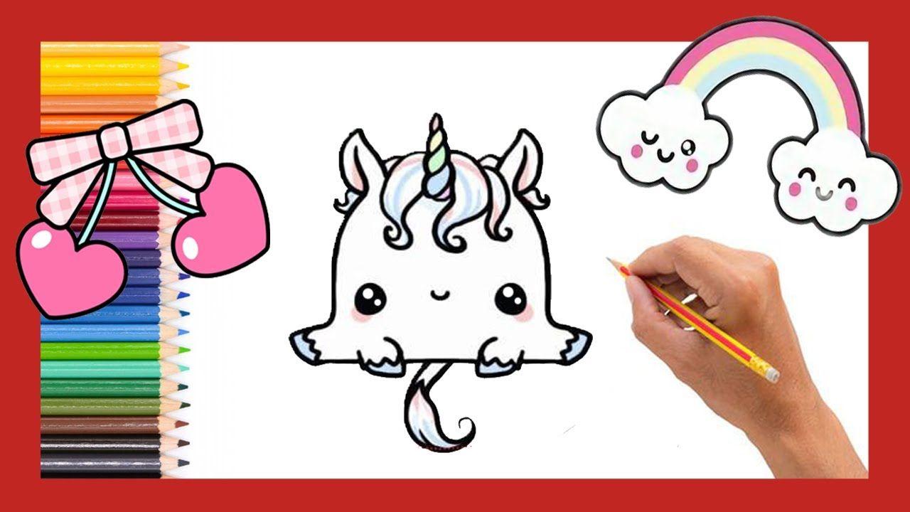 Como Dibujar Un Unicornio Kawaii Facil Paso A Paso Dibujos Faciles Para Niños K Como Dibujar Un Unicornio Dibujos Faciles Para Niños Dibujo Paso A Paso