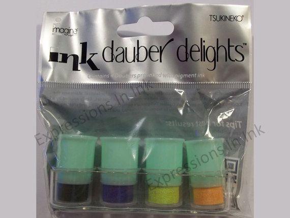 Pre inked Dauber stamps