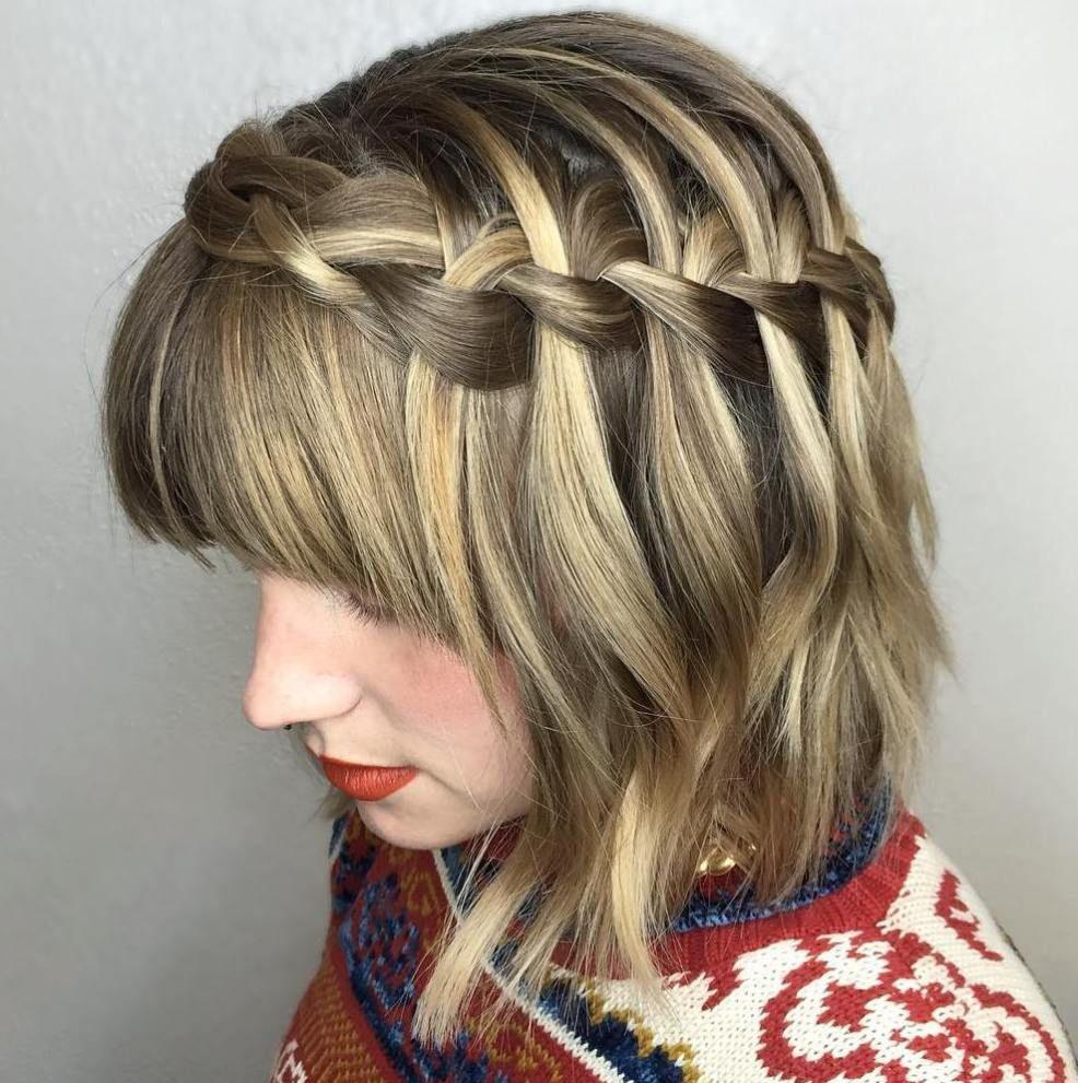Flowing Waterfall Braid Styles  Hair  Pinterest  Braids