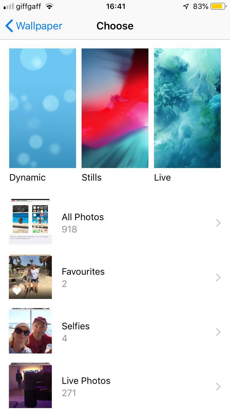 iphone lock screen wallpaper auto change - How do I change ...