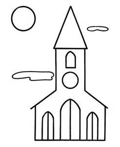 Printable Buildings Bing Images Easy Coloring Pages Christmas