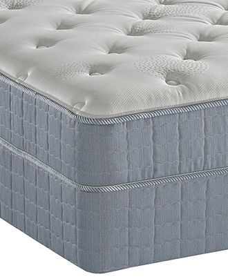 Serta Perfect Sleeper Queen Mattress Set, Coronado Visco Tight Top ...