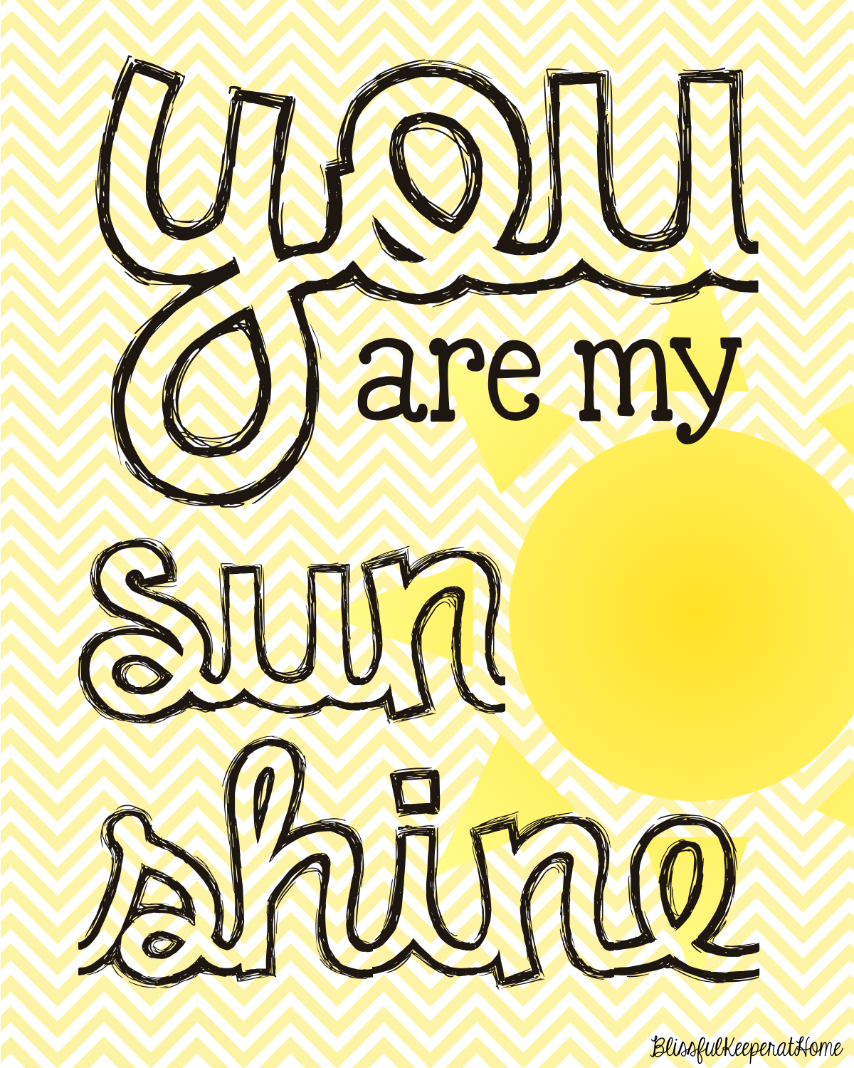 photograph regarding You Are My Sunshine Printable identified as Totally free Yourself Are My Solar Printable A: Printables Free of charge