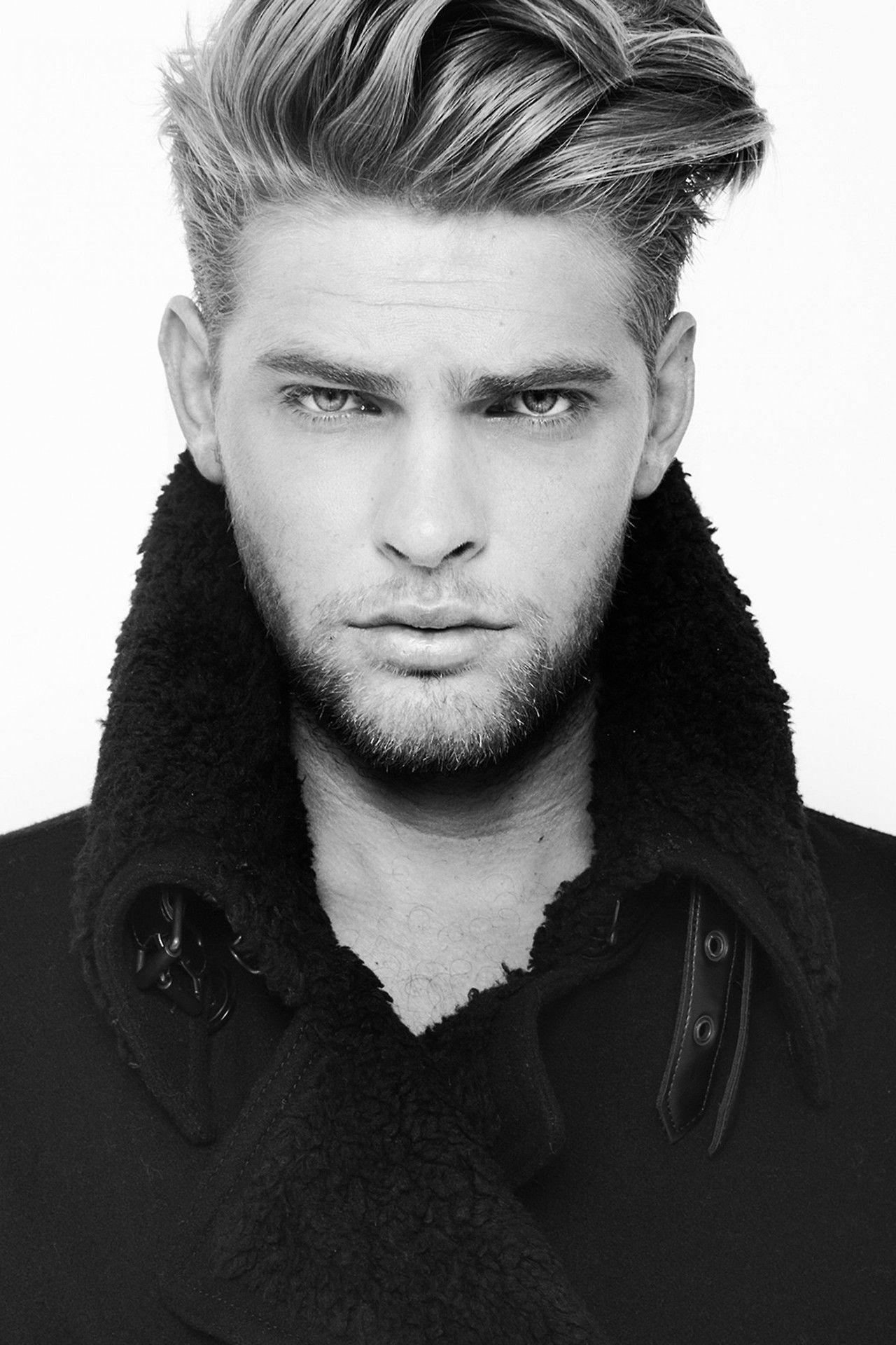 Handsome Males Mias Van Der Westhuyzen Men Haircut Styles Hair And Beard Styles Mens Hairstyles