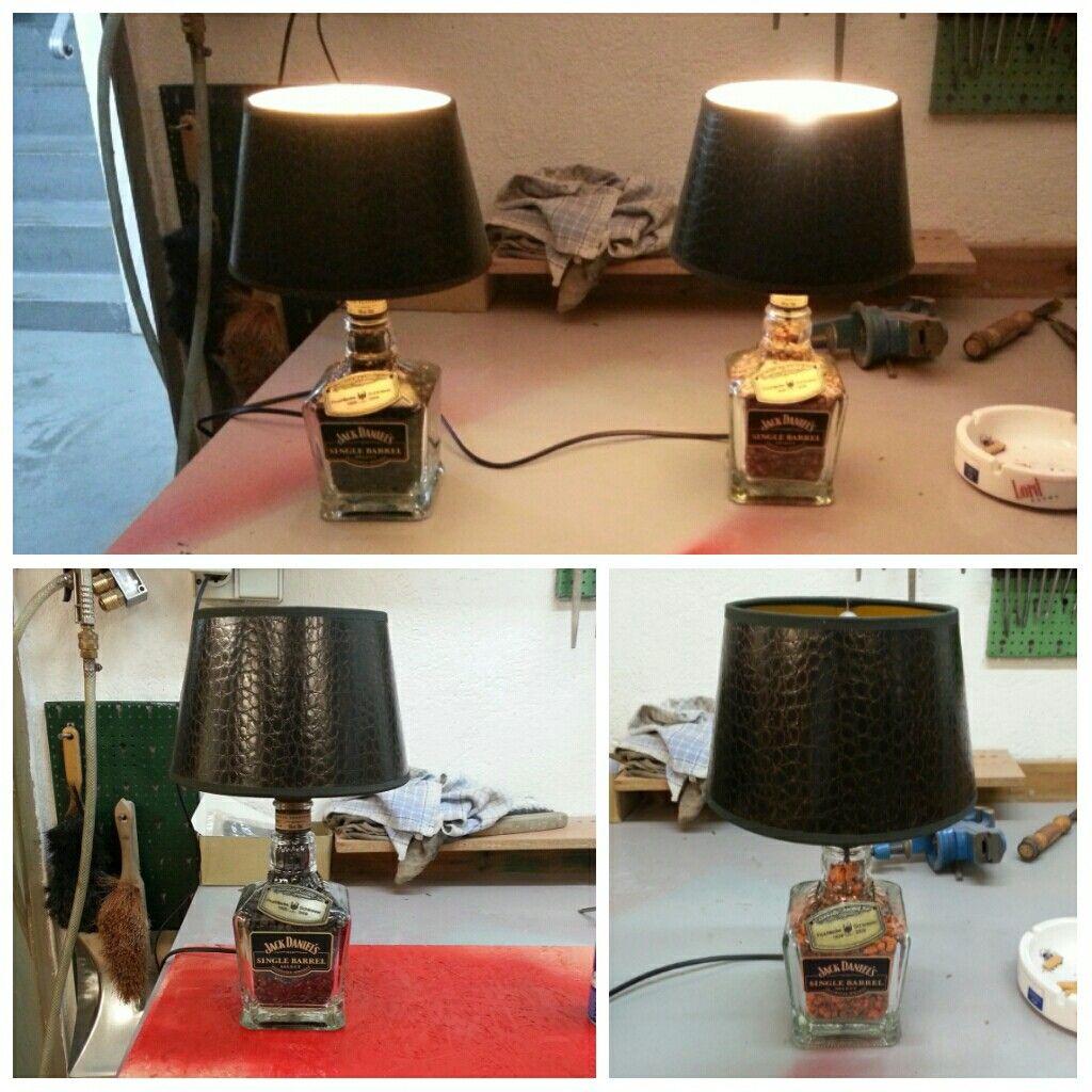 Whisky Lampen aus eigener Fertigung