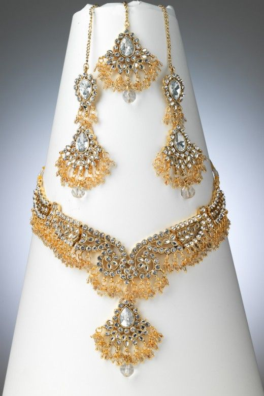 Pakistani Gold Jewellery Designs Blinged Out Jewelry Pinterest