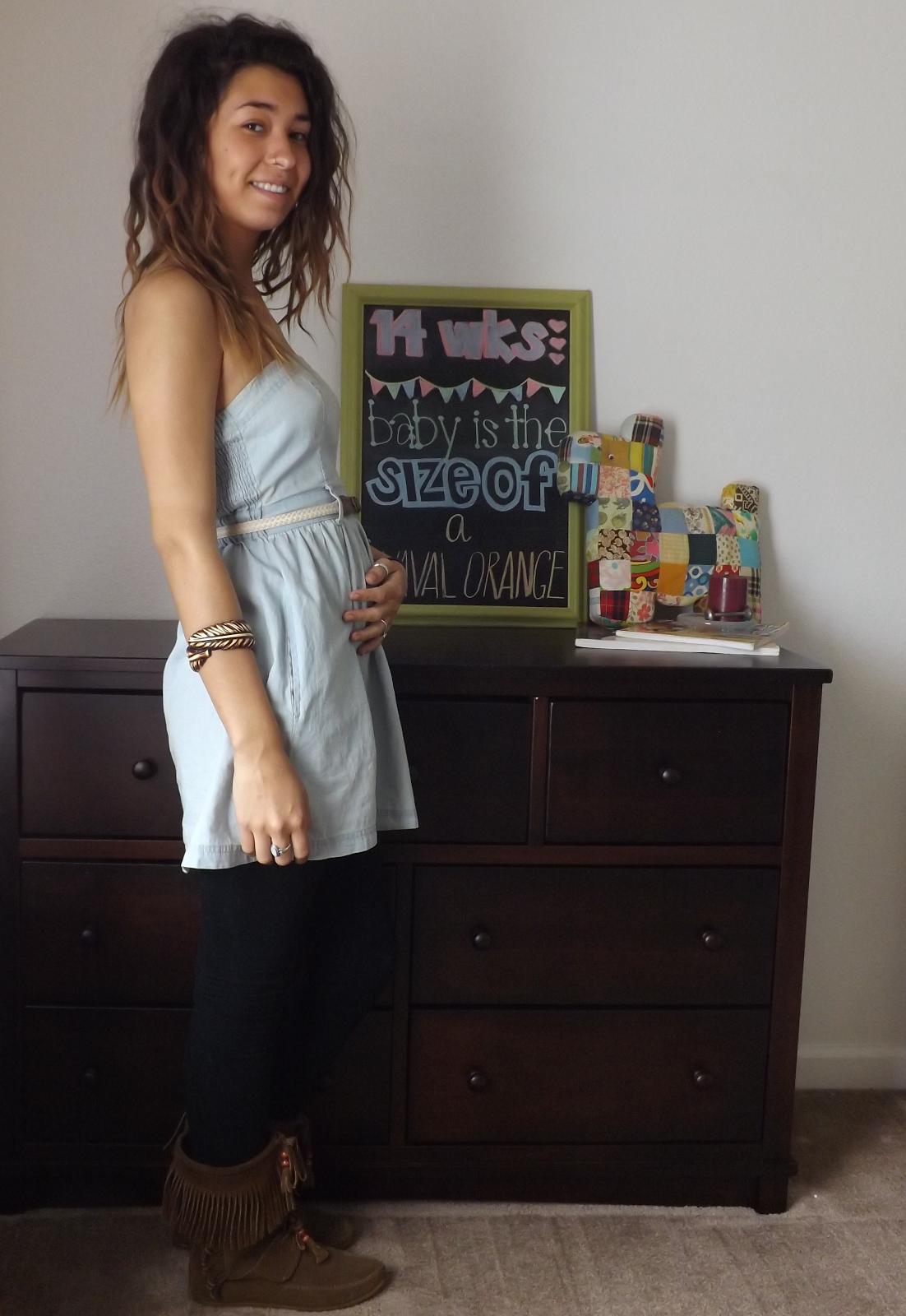 Baby Baker: 14 Weeks #babybaker #ourbabybaker @Brenna Renn Baker #pregnancyblog #nursery