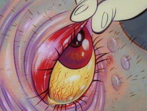 Ren Stimpy Flipbook Kitsch Art Cartoon Styles Cartoon Kiss