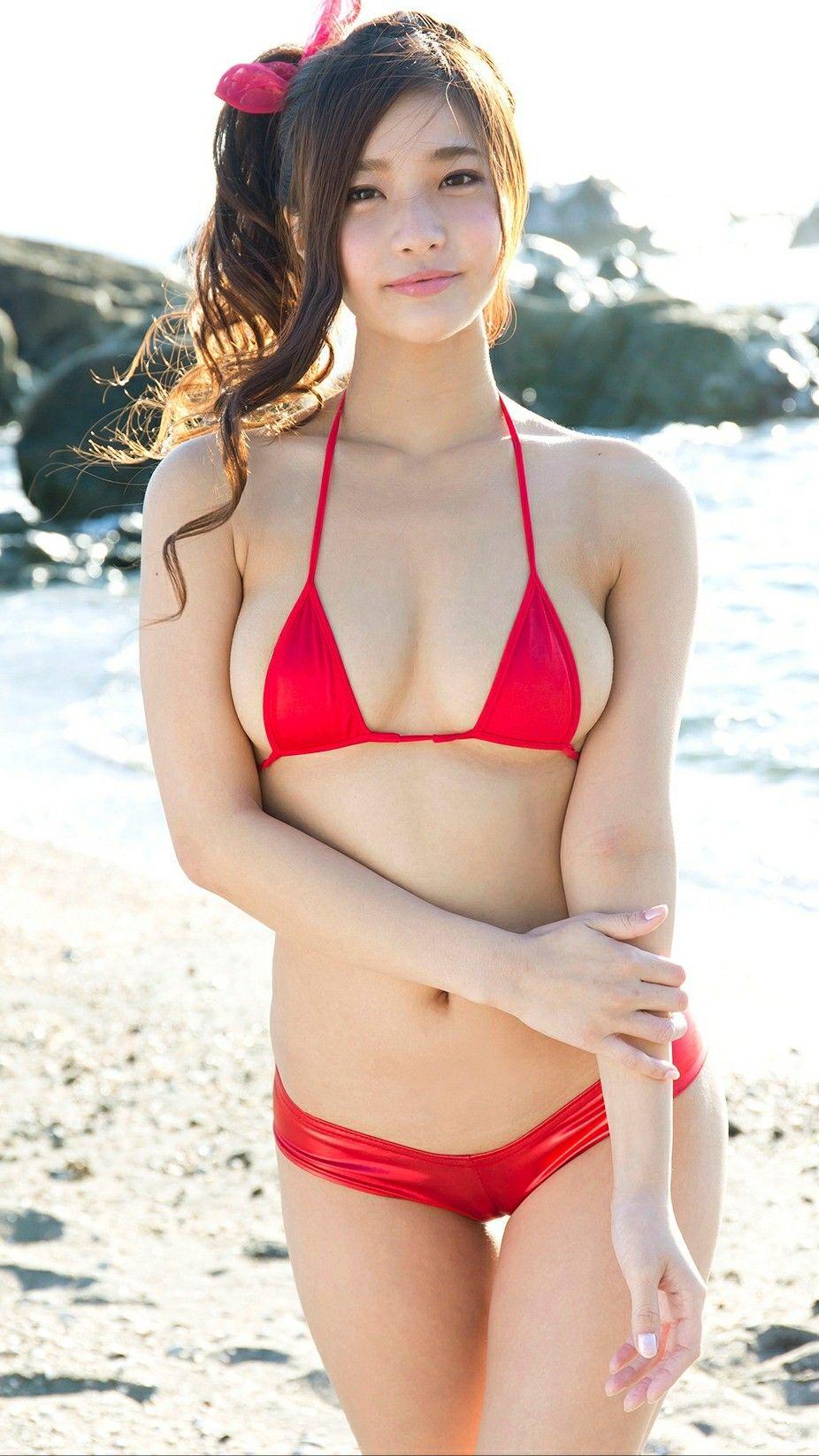 1a292fb0910 Cute Asian Girls, Beautiful Asian Girls, Beautiful Body, Red Bikini, Bikini  Girls. Visit. March 2019