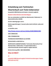 Fachuebersetzer Fuer Mechatronik Saetze Technik Bedienungsanleitungen Leseprobe Textprobe Textauszug