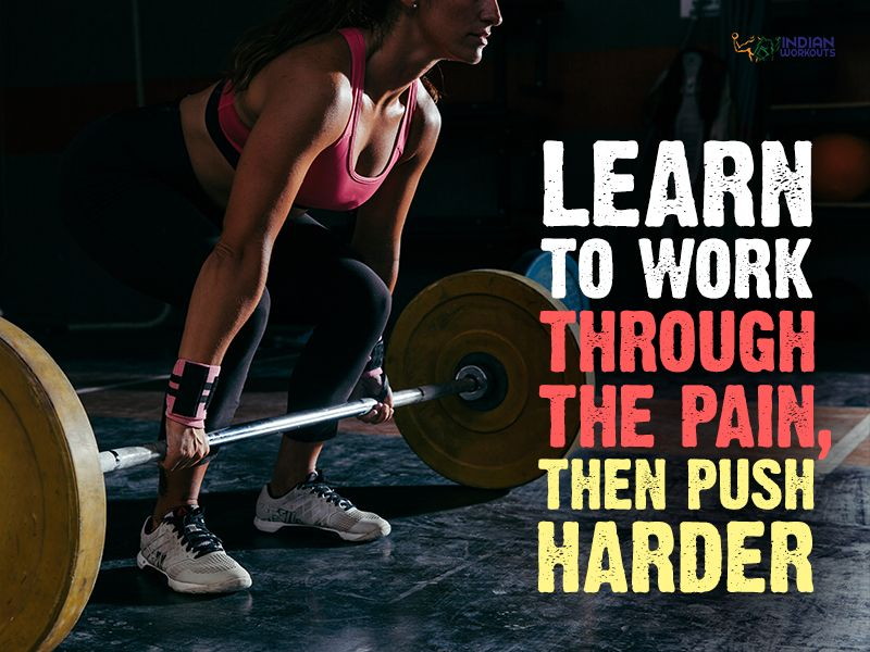 Push harder till you reach your FitnessGoals!