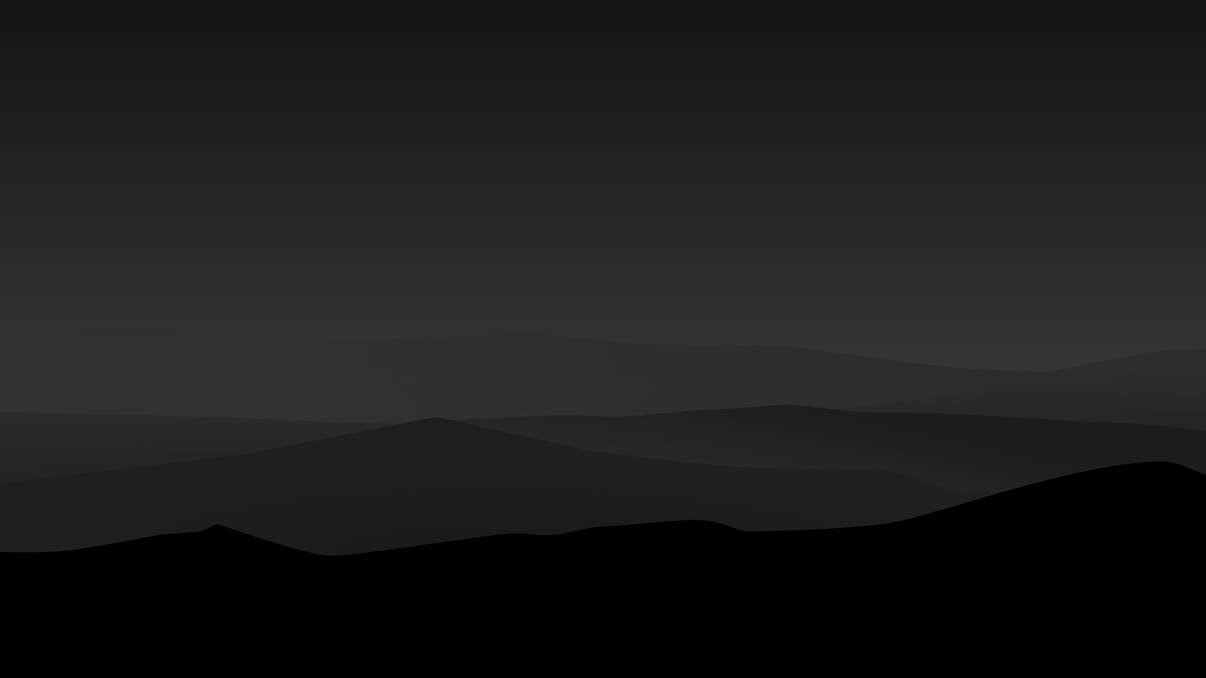 Dark Night Mountains Minimalist 4k Simple Background Wallpapers Oled Wallpapers Mou Desktop Wallpaper Black Minimalist Wallpaper Minimalist Desktop Wallpaper