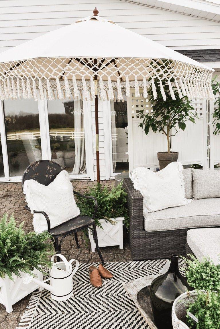 Cozy Farmhouse Patio Cheap Patio Furniture Patio Design Patio