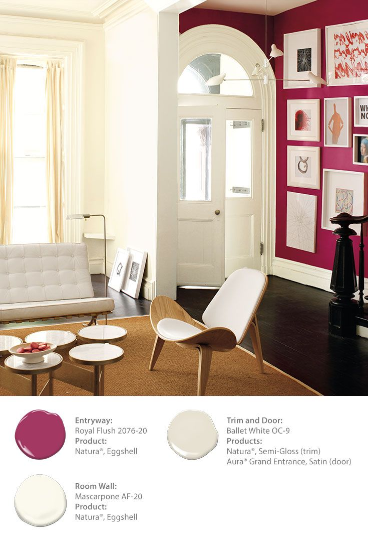 Benjamin moore royal flush 2076 20 natura eggshell this pink for the chinese room