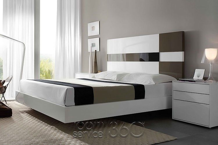 size 40 0942f 86073 Cuadros Contemporary Floating Platform Bed by Mobenia ...