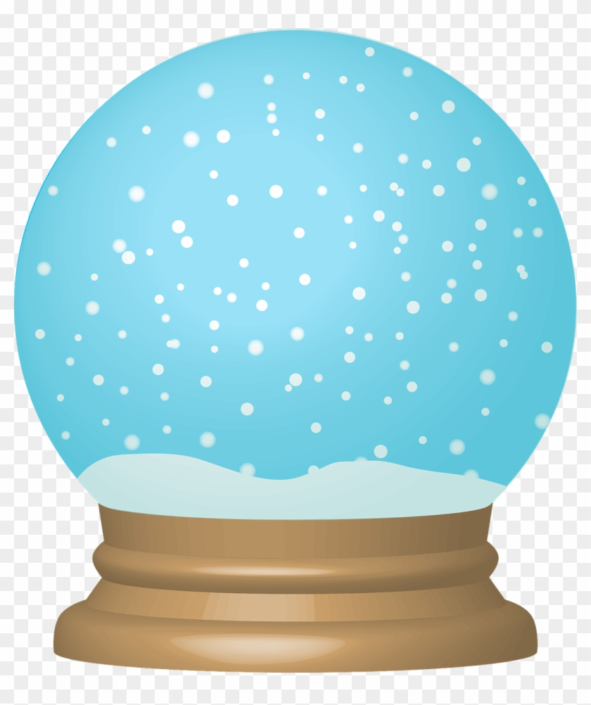 hight resolution of snow globe clipart