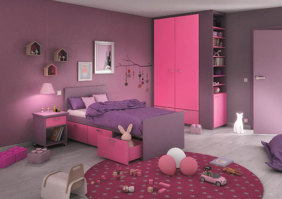 1000 images about idee pour elodie on pinterest lilacs mauve and chalk paint colors - Chambre Rose Et Violet
