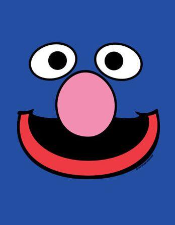 Grover face template