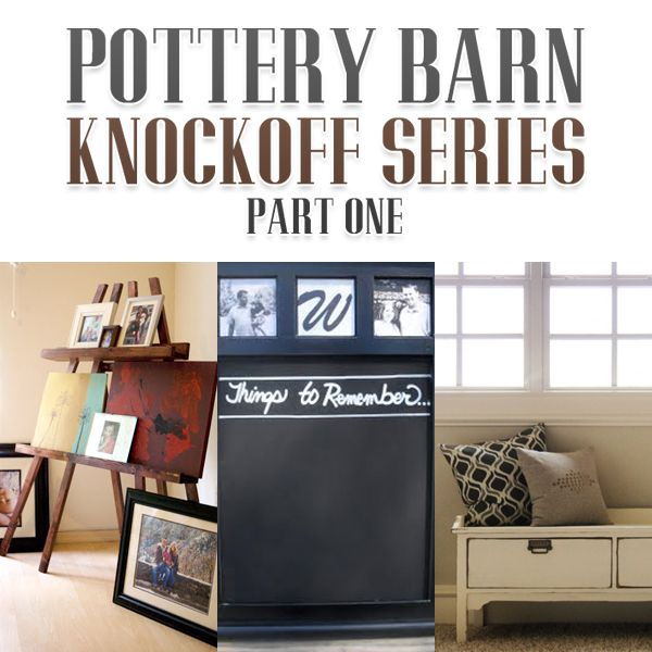 Pottery Barn Knock Offs Pottery Barn And Craft