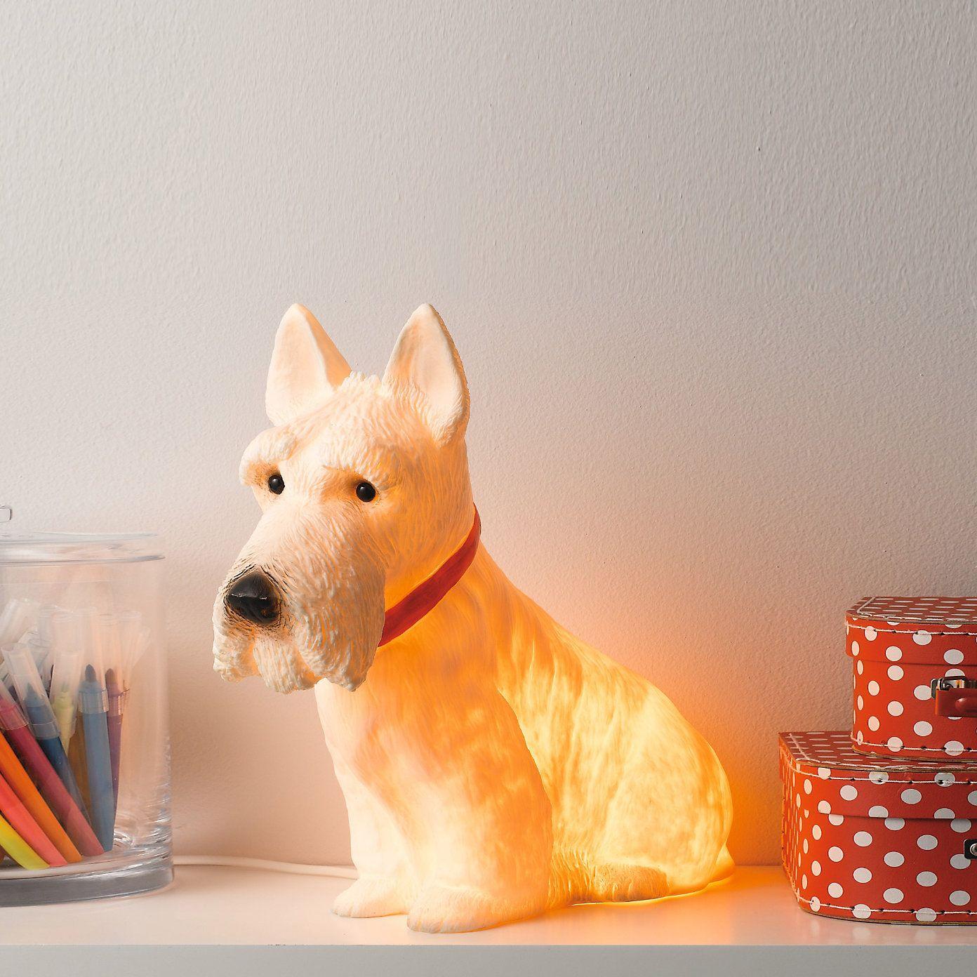 Scottie Dog Night Light | The White Company