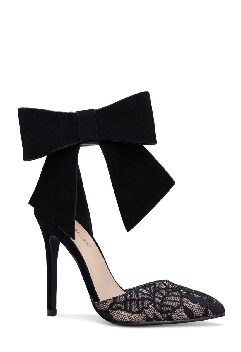 Bow pumps, Shoe dazzle, Pumps heels