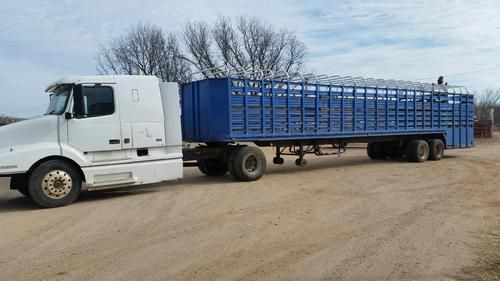 48x8 Steel Dors Ground Load Trailer for Sale - For more information click on the image or see ad ...