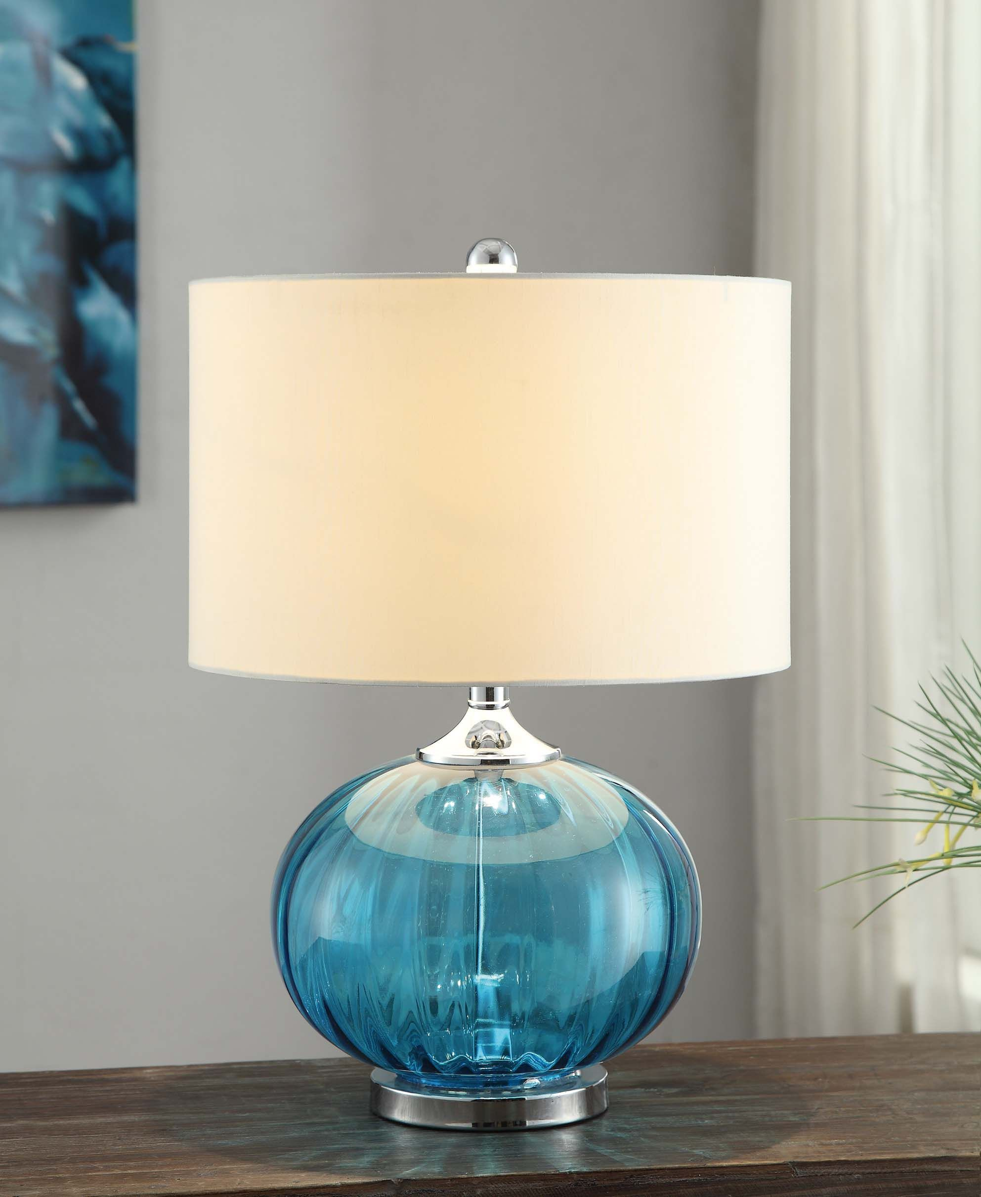 New Port Table Lamp Glass Table Lamp Contemporary Table Lamps Table Lamp