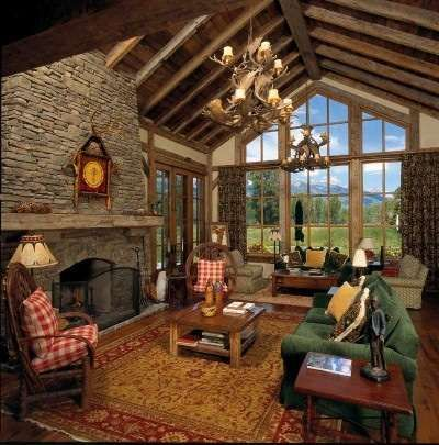 Pole barn ideas on pinterest pole barns pole barn for Great room decorating ideas