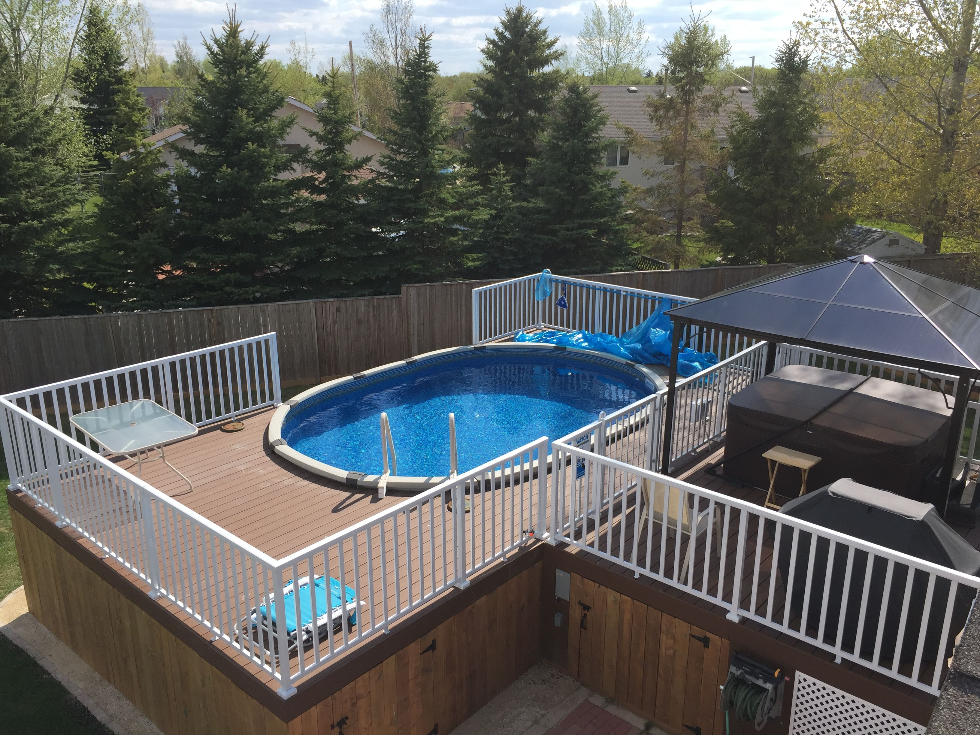 Pool Inspiration From Lorette Manitoba Here S One Of Our Best Seller 13 X 20 Eternia Salt Friendly Pool