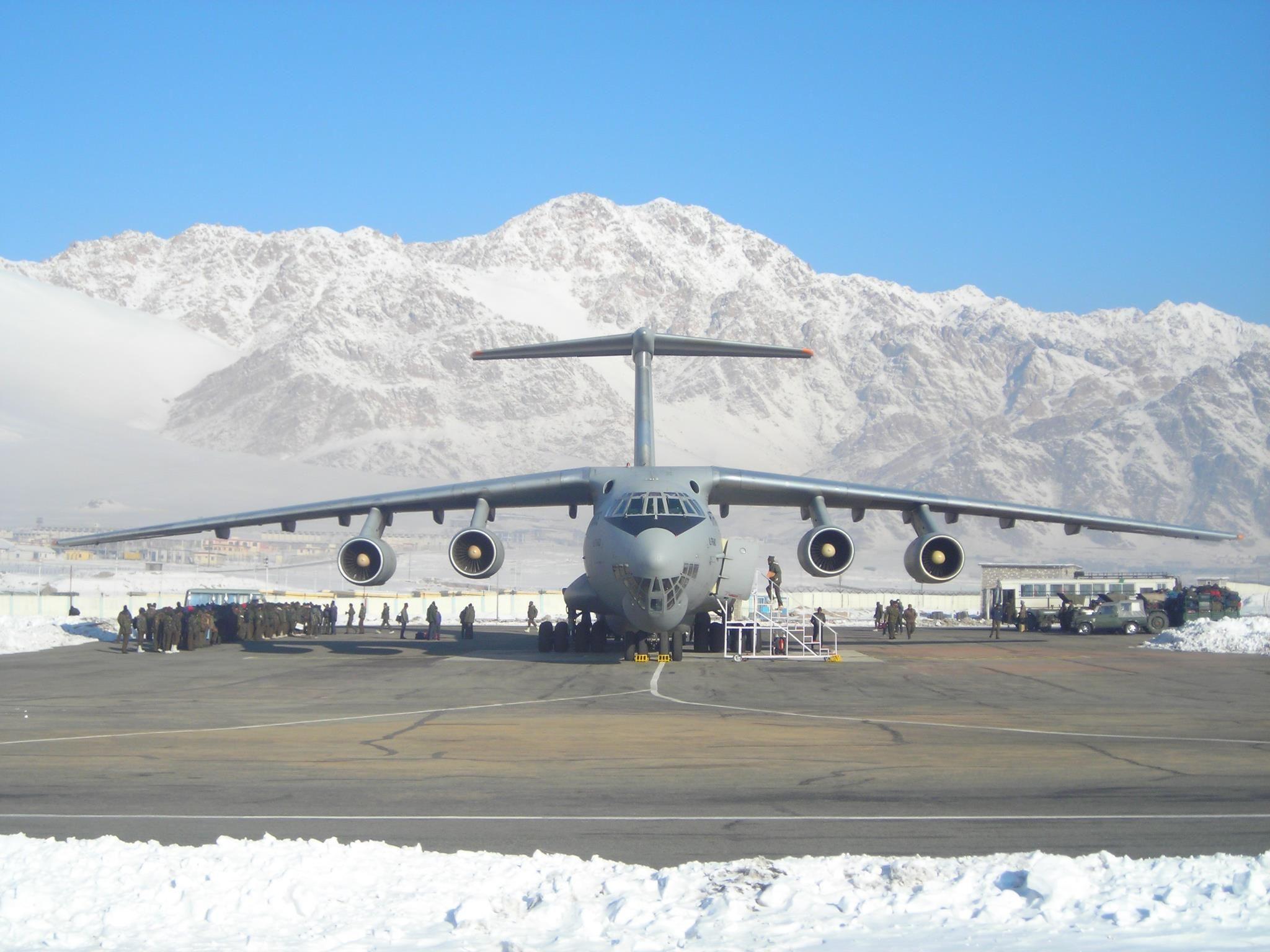 100™ Ilyushin Il78MKI Indian Air Force Авиация, Самолет