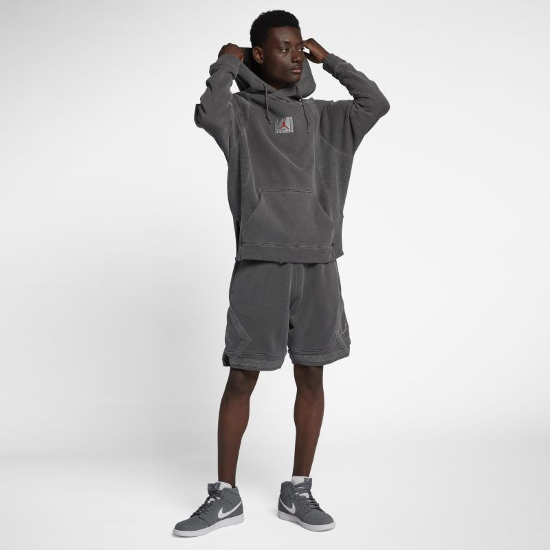 Nike Jordan Sportswear Wings Washed Fleece Pullover Hoodie