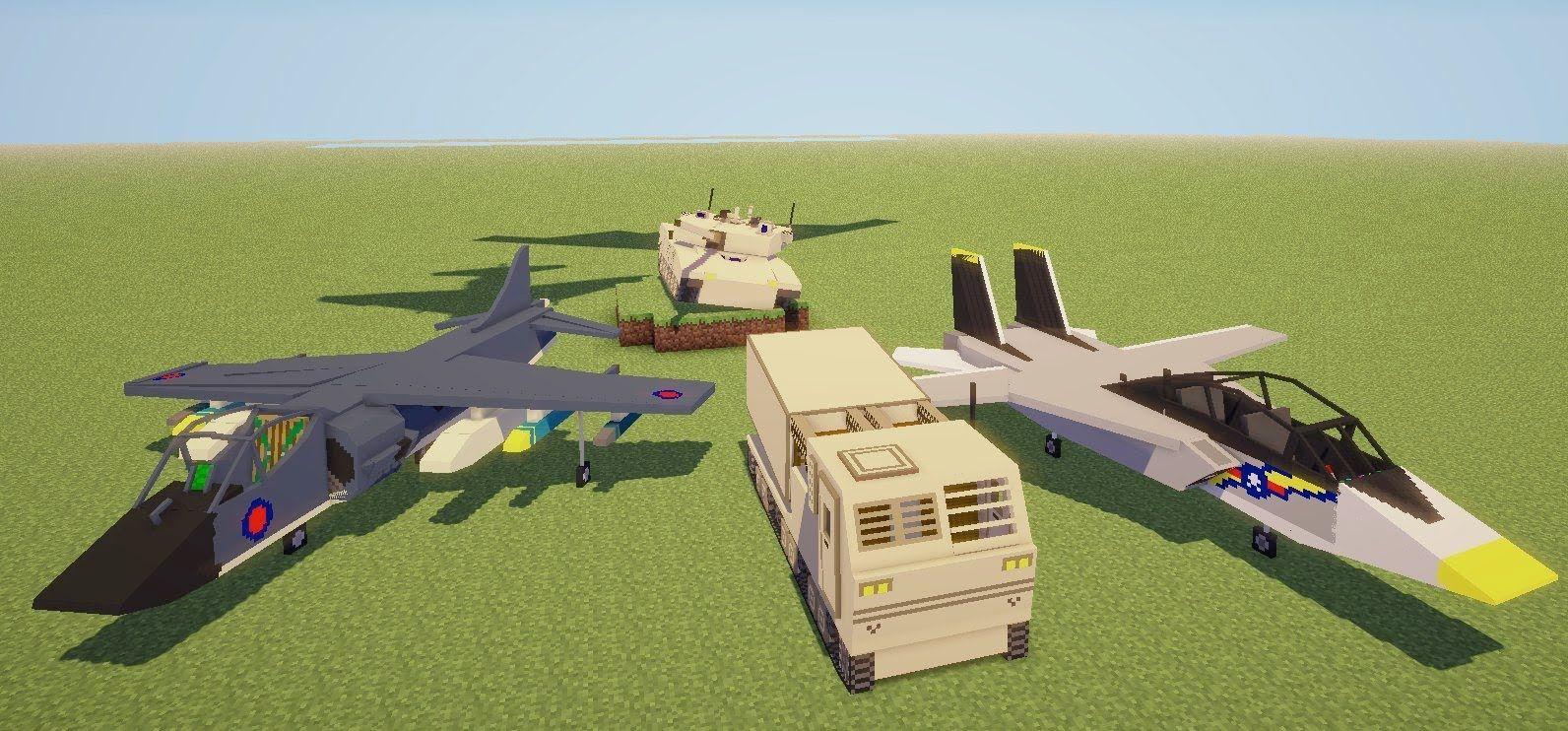Minecraft Flan S Mod Taskforce 51 Vehicle Pack Minecraft Minecraft 1 Mod