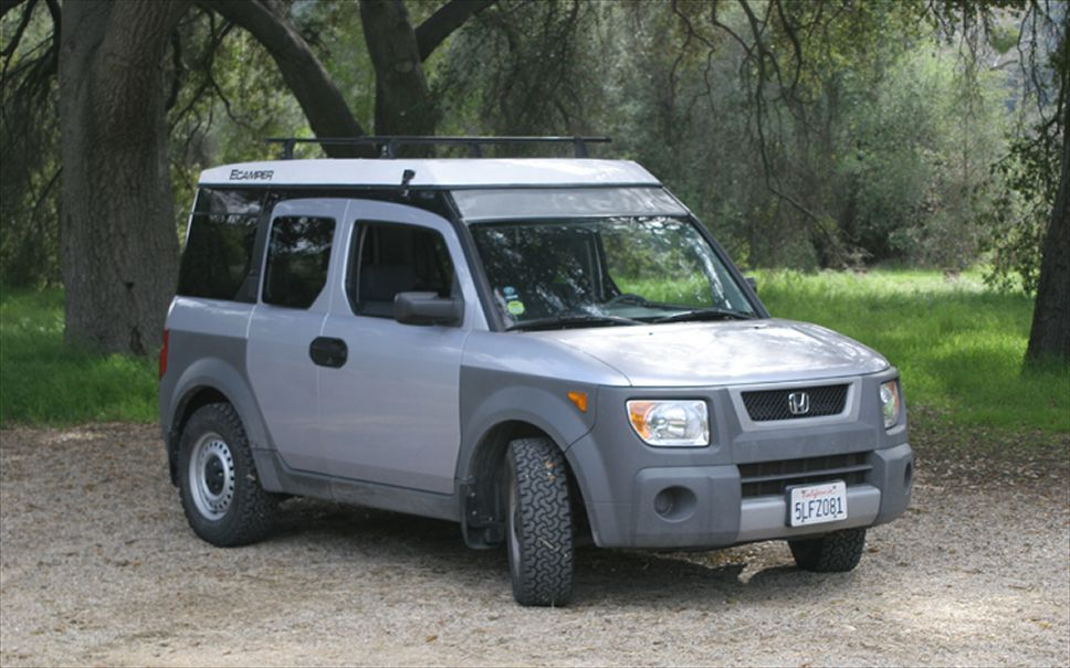Honda Element Camper Top Down | auto | Pinterest | Honda ...
