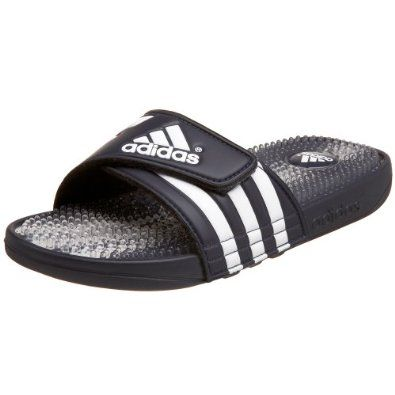 5cdf1a65bdef adidas Men s Santiossage Slide adidas.  26.90. Made in Vietnam. Injected  lightweight EVA. Adjustable strap. Rubber sole. synthetic. TPR footbed with  massage ...